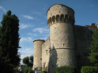 The castle of Meleto