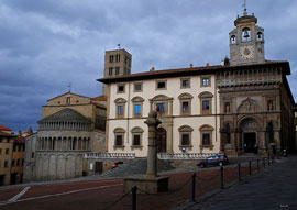 Excursions around Siena: Arezzo